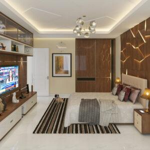 Second Floor Master Bed
